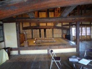 旧笠井邸の2階